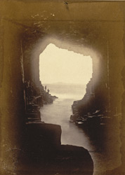 Interior Of Fingal's Cave, Looking To Iona